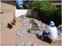 Scottsdale Disappearing Pondless Stream by The Pond Gnome